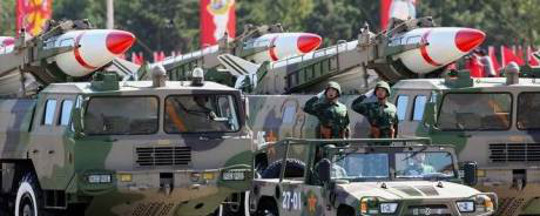 चीनी मिसाइलों
