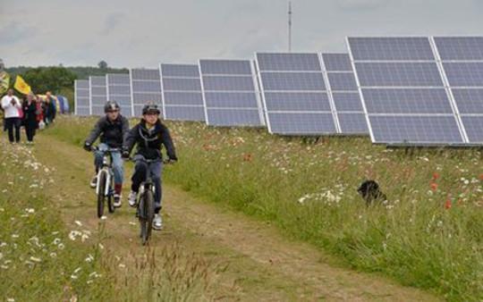 westmill الطاقة الشمسية