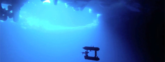 Robot Submarine Looks Under Antarctic Sea Ice To Gage It's Thickness