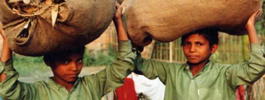 Cadeias Globais de Abastecimento Ligam para Todos Vergonha da Criança e do Trabalho Forçado