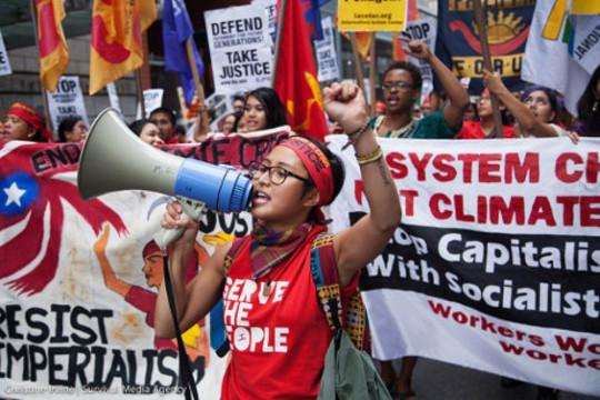 protesta per il clima