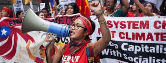 Matagal na nabubuhay Economic Resistance Nagpunta Mainstream Sa Tao ng Klima Marso