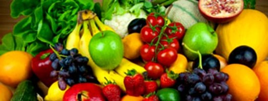 Think Health, Think Colored Fruits and Vegetables
