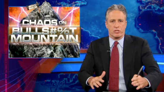 The Curtain Falls On Jon Stewart, America's Favorite Jester