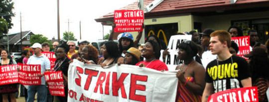 Fast Food Workers-Plan zivilen Ungehorsams als Arbeitgeber Freak Out Über NLRB Ruling