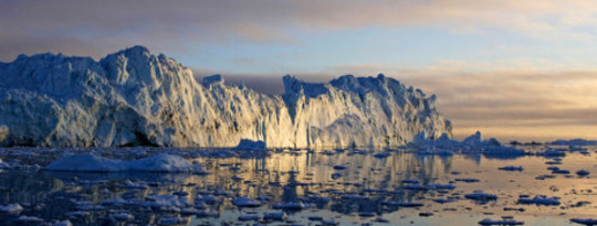 Greenland Ice Sheet Is Melting pada tingkat percepatan
