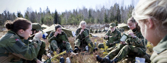"Norway's Military Does ""Meatless Mondays"" for the Climate"