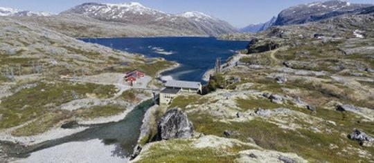 hidrelétrica de noruega