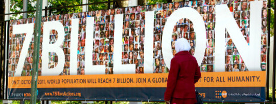 sieben Milliarden