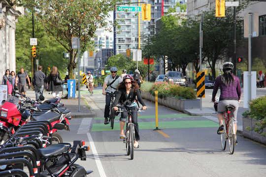 10 Ways Vancouver creó un sistema de transporte más ecológico y eficiente