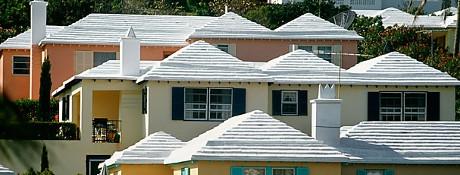 Vita tak kunde kvitta sommaruppvärmning av 2100