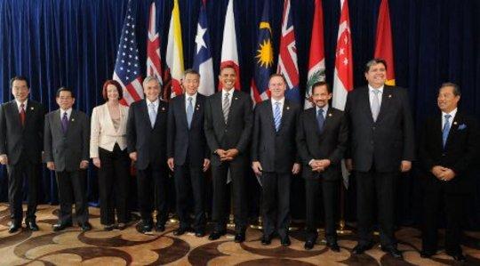주요 정치 기부자는 TPP 문서에 액세스 할 수 있습니다. 다른 사람들? 별로.