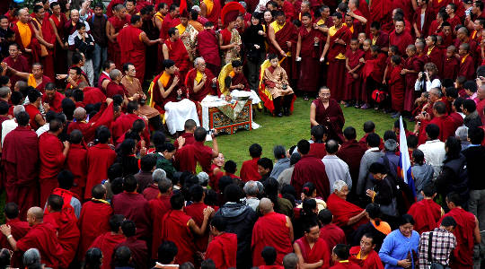 Buddhist Leaders Unite and 1 Billion Buddhists Urge For Action On Climate Change