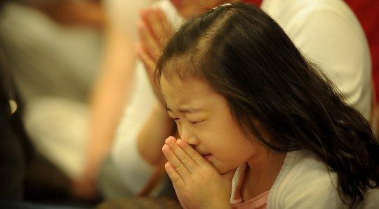 Verdien av kunsten av bønn for barn