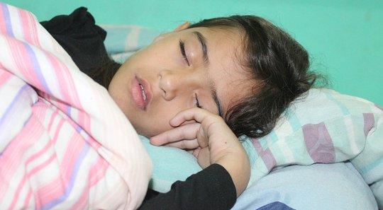 Barnens sömnkvalitetsfrågor för vissa skolämnen