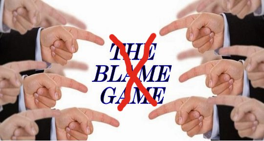 How To Eliminate Blame In Your Life