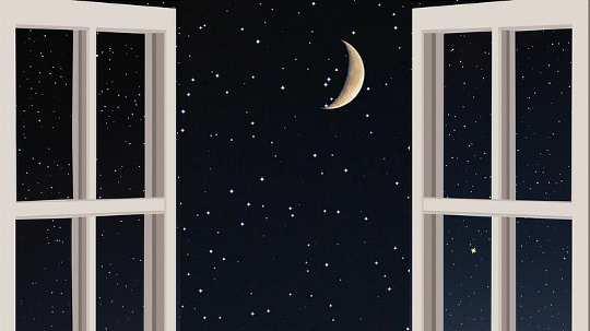 Нахождение спокойствия, комфорта и силы, обнимая Луну