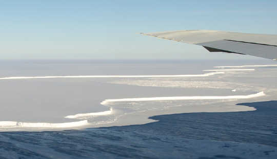 Why The Shrinking Of Antarctic Ice Shelves Is Accelerating