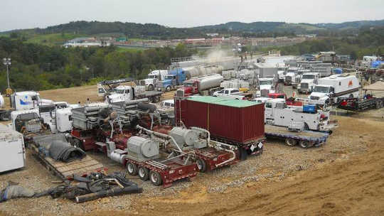 People Near Fracking Wells Show Higher Hospitalization Rates