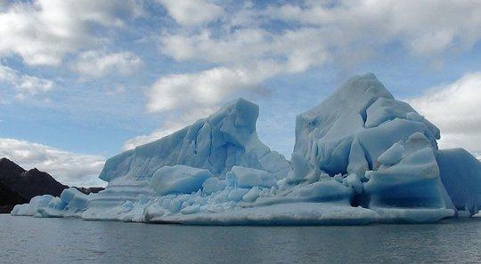 ijsberg Patagonië