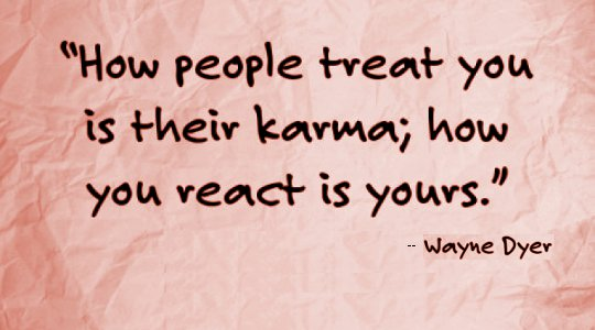 The Confusion of Karma: It's Yourours ... Good or Bad