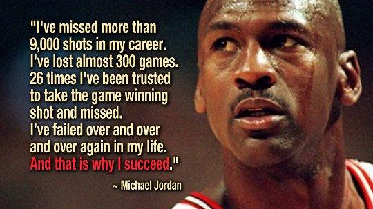 Att lära sig hur man misslyckas: tar risker och lär sig av misstag