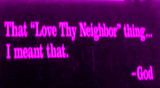 Love Your Neighbor... and Your Family... and Yourself, Unconditionally