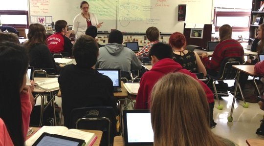 mobile devices in classrooms