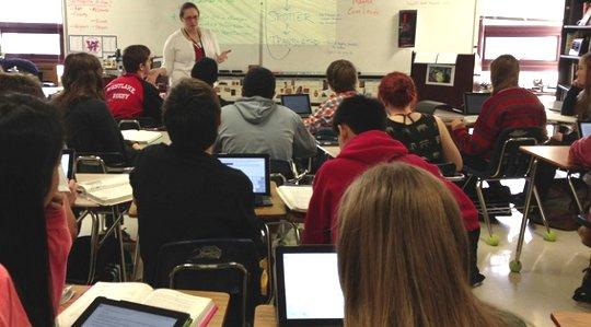 mobila enheter i klassrum