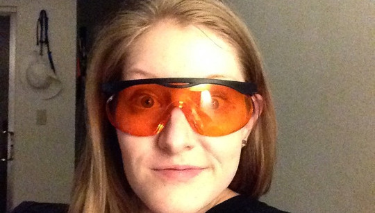 Can Wearing Orange Tinted Glasses Before Bed Help You Sleep?