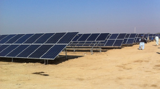 Pakistan Turns The Desert Into A Sea Of Solar Panels