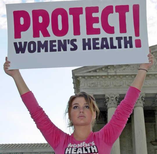 suojella naisten terveyttä