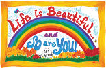 2016 Life is Beautiful and So Are YOU! Calendar by Sarah Love.