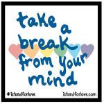 Mach eine Pause von deinem Verstand