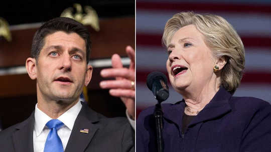 Betapa Clinton dan Kompromi Ryan Might Look Like