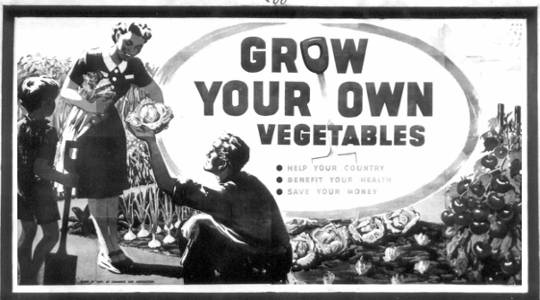 È tempo di far risorgere la campagna 'Grow Your Own' della seconda guerra mondiale?