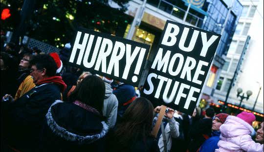 berhenti terlebih belanja