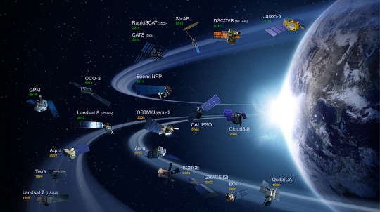 NASA 인공위성