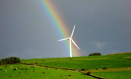 Why Wind Turbines Could Make Growing Conditions Better For Crops