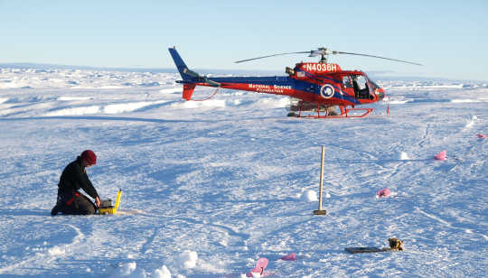 Antarctic Glacier's Unstable Past Reveals Danger Of Future Melting