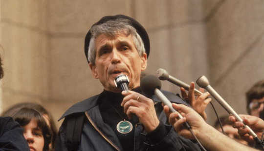 When Father Daniel Berrigan Went Underground In 'The Holy Outlaw'