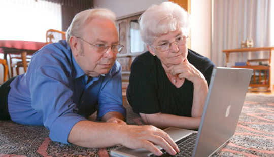 Lots Of Older Adults Use Facebook For Surveillance