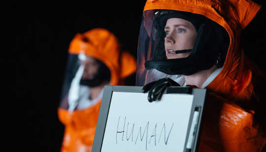 "First-contact Film ""Arrival"" Finds New Way To Explore Aliens"