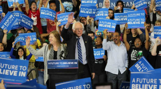 May Hinahanap Bright para sa Sanders bilang Political Revolution Marches On