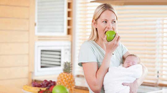 Was sollten stillende Frauen essen?