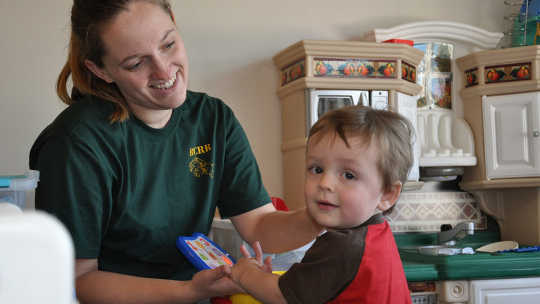 Advocates need to develop a broad-based support, which includes hearing all voices, such as those of child care workers. U.S. Army, CC BY