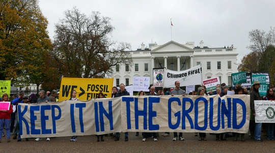 A shifting focus of climate activists: leaving fossil fuel reserves in the ground. Susan Melkisethian/flickr, CC BY-NC-ND