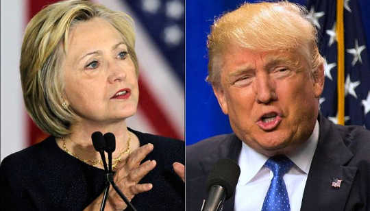 Why Voters Don't Seem To Forgive Clinton, While Trump Gets A Free Pass