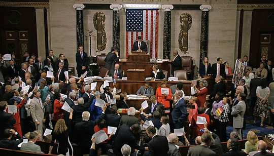 Конгресс просто AWOL и вне контроля