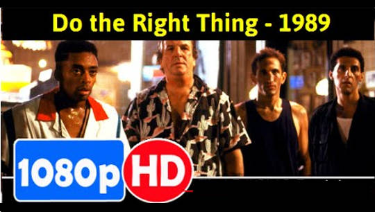 "an analysis of the movie do the right thing by spike lee ""do the right thing ends the morning after radio raheem's death, but we  it's  tempting to look for a greater film somewhere else in spike lee's body  the  film's title and contextualizes everything with some kind of meaning."